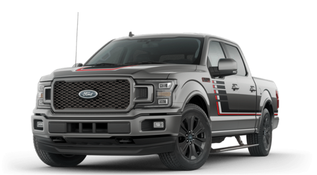 New 2019 Ford F-150 Lariat Luxury 502A w/ Lariat Special Edition & Sport Appearance Pkgs SuperCrew SWB 4x4 / 4WD 3.5L V6 EcoBoost  Truck for sale in Edinboro, PA